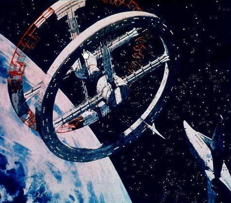 multiple torus space station - photo #13